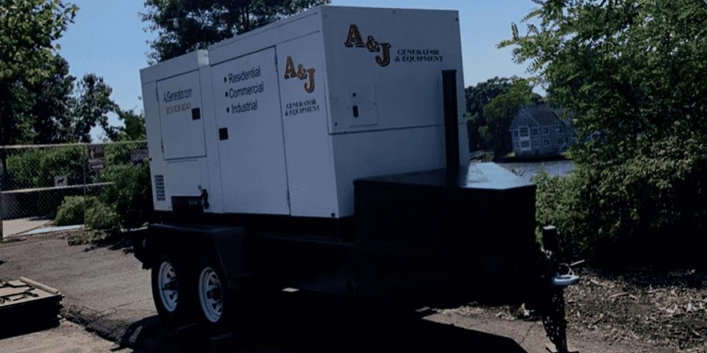 Generator rental banner image