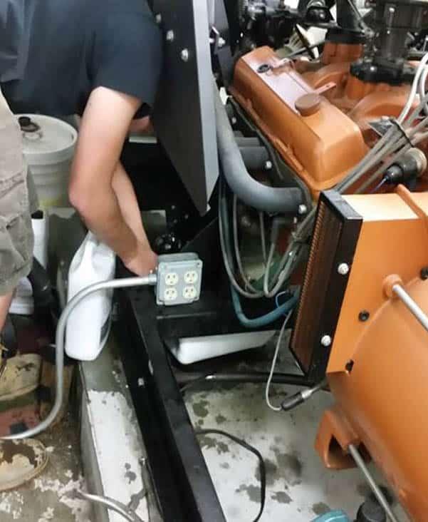 generator maintenance repair