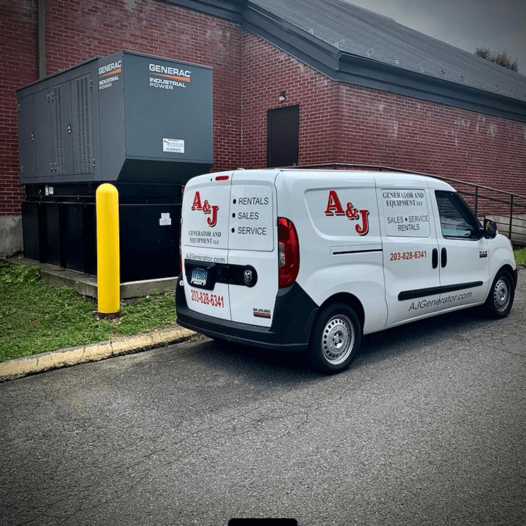 A&J Work Van