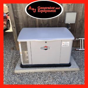 briggs & stratton residential generator install 2
