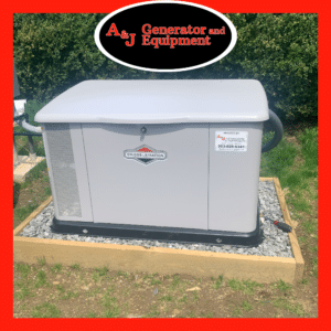 briggs & stratton residential generator install 7