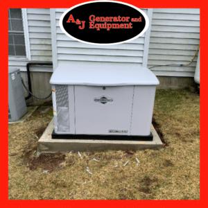 briggs & stratton residential generator install 4