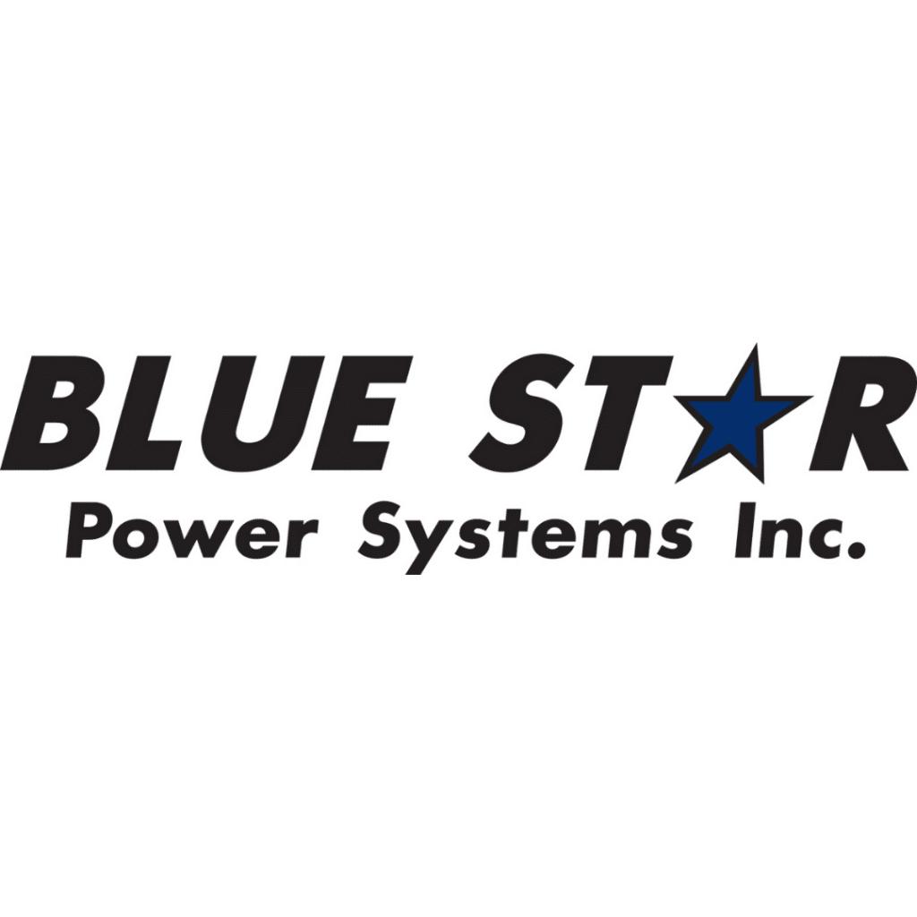Blue Star Power Systems Logo - White