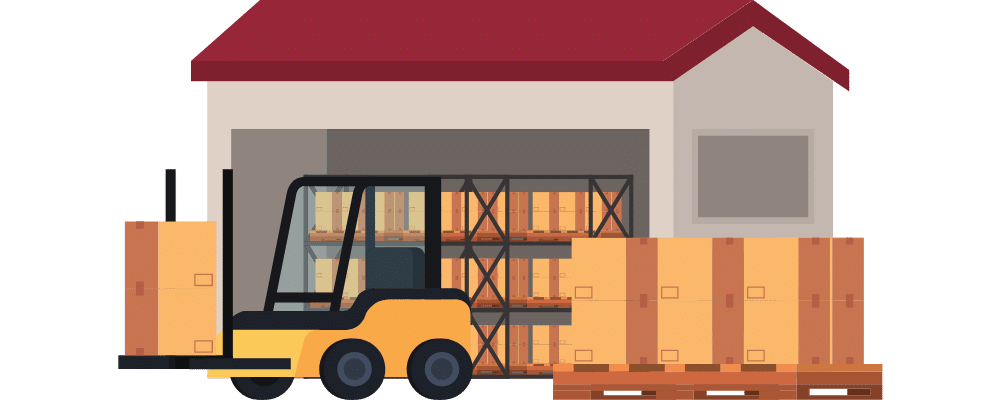 warehouse commercial building