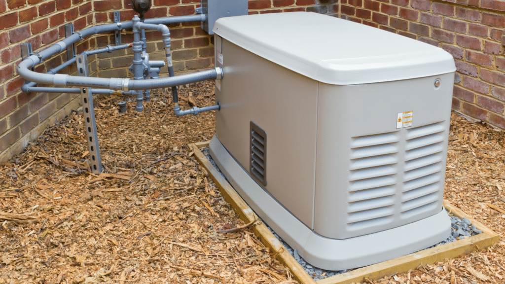 Whole Home Generator near Brick Foundation